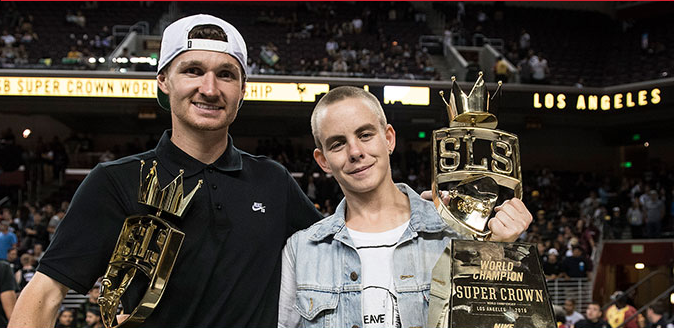 Shane O'Neill e Lacey Baker vencem SUPER CROW da Street League em Los Angeles