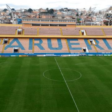 """Com direito a """"gol de placa"""", Oeste acaba com jejum de seis jogos e vence o Santa Cruz na Arena Barueri"""