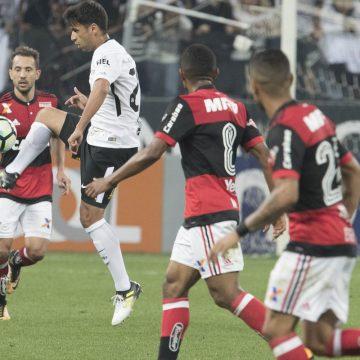 Brasileirão: Ouça os gols de Corinthians 1 X 1 Flamengo
