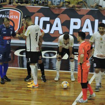 Semifinal da Liga Paulista de Futsal: Matéria do jogo Corinthians e AABB