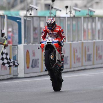 GP Malaio causa reviravolta e Dovizioso segue vivo na briga pelo título
