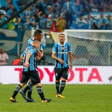 Libertadores 2017 – 1º jogo da Final – Ouça o gol de Grêmio 1 X 0 Lanús-ARG
