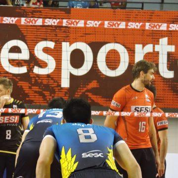 Superliga Masculina 2017-2018 – 1º jogo da semifinal: Ouça os momentos finais e as entrevistas de SESI SP 3 X 2 SESC-RJ