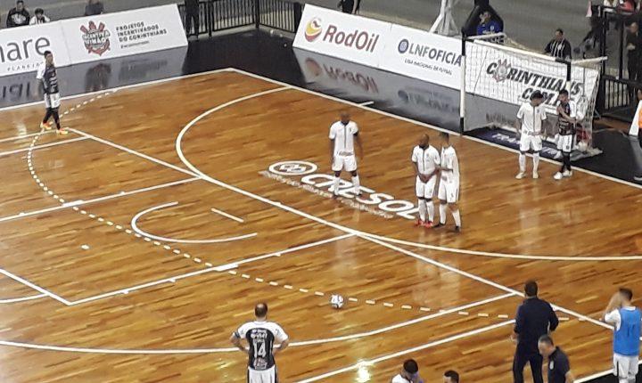 Liga Futsal 2018: Ouça os gols e as entrevistas de Corinthians 5 X 2 Marreco Futsal