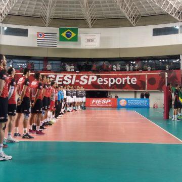 Semi-final – Jogo 2 – Ouça os momentos finais e as entrevistas de Sesi-SP 3 x 0 Corinthians