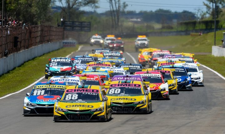 Stock Car Brasil: Em Londrina, Fraga dá azar nos boxes e Daniel Serra aproveita