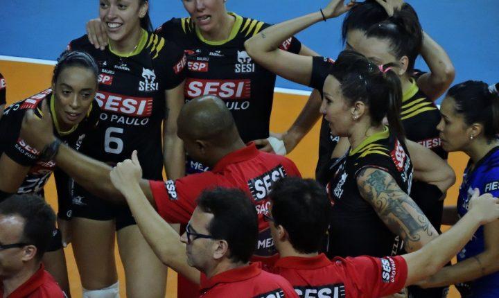 Com mudanças, SESI Bauru se prepara para nova temporada
