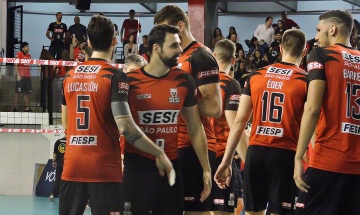 Superliga: Jogadores do SESI analisam o primeiro duelo contra o Itapetininga