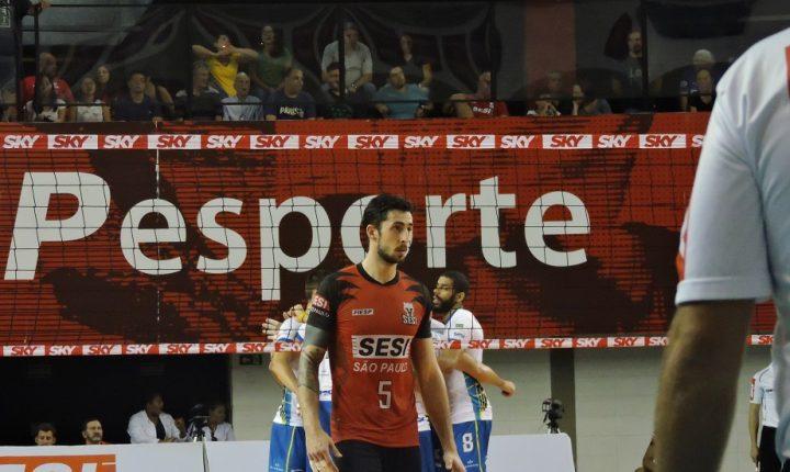 SESI-SP e SESC-RJ fazem duelo pela rodada da Superliga Masculina na capital paulista