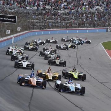 Fórmula Indy: Newgarden brilha na hora certa e vence no Texas
