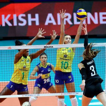 Sem sustos, Brasil vence a sétima seguida