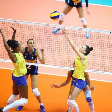 Brasil se impõe e vence a Itália na quinta semana de competição