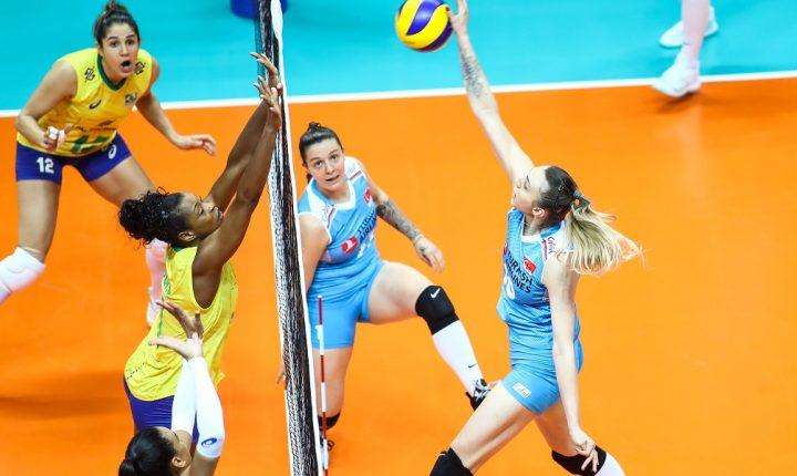 Em jogaço, Turquia bate o Brasil na última rodada da primeira fase