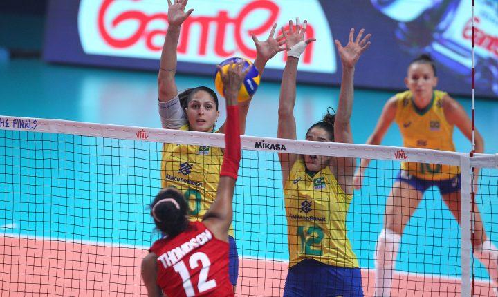 Brasil sofre virada e fica com o vice  desta temporada