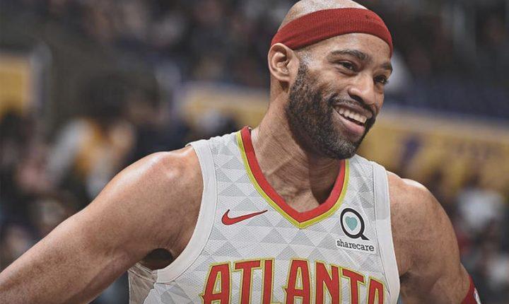 Vince Carter renova com o Atlanta Hawks e irá disputar a 22ª temporada da carreira