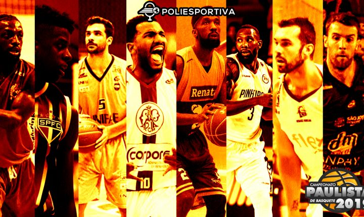Definidos os playoffs do Campeonato Paulista de Basquete 2019
