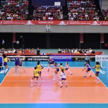 Sem pódio, Brasil encerra sua participação com vitória na Copa do Mundo de Vôlei; China conquista o seu quinto título