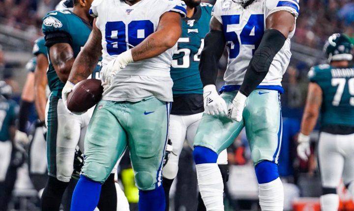 Cowboys vencem Eagles em casa e assumem a ponta da NFC Leste