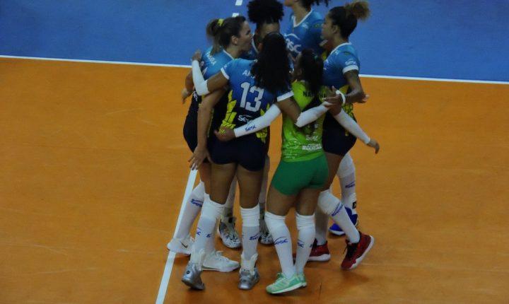 Três jogos abrem a 8°rodada da Superliga Feminina nessa sexta-feira