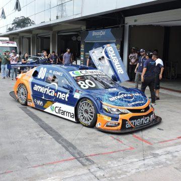 Em final eletrizante, Marcos Gomes surpreende os finalistas, e larga em 1º na Stock Car Brasil