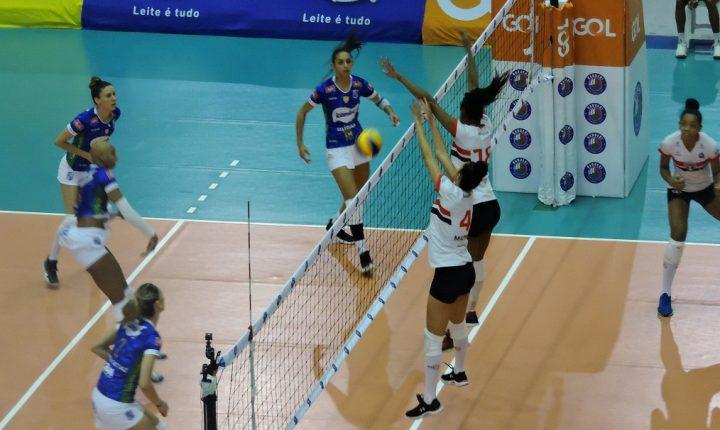 Na Superliga Feminina, Minas quer manter a liderança e São Paulo Barueri quer surpreender mais uma vez