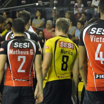 Pela Superliga Masculina, SESI-SP recebe Sada Cruzeiro nessa quarta
