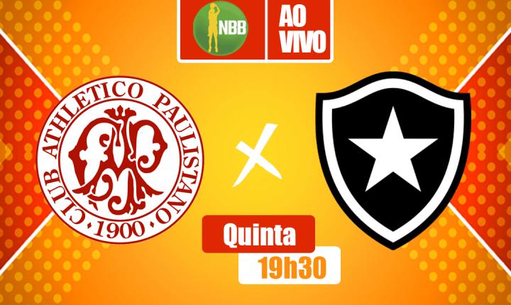 Em busca da vitória, Paulistano e Botafogo se enfrentarão no NBB