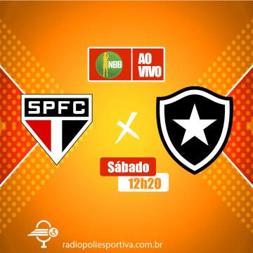 Para retomar as vitórias, São Paulo e Botafogo duelarão no Morumbi