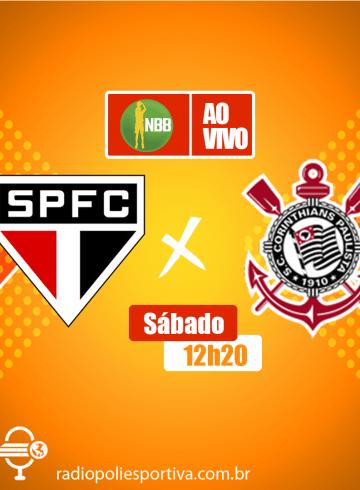 NBB 12 – São Paulo X Corinthians