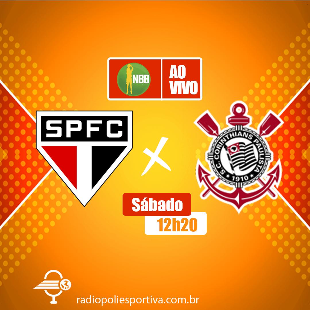 NBB 12 - ao  vivo - São Paulo X Corinthians