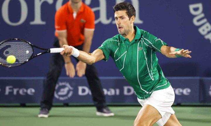 No ATP de Dubai, Djokovic vence Jaziri na estreia