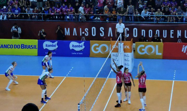 Definidas as oito equipes classificadas para os playoffs da Superliga Feminina