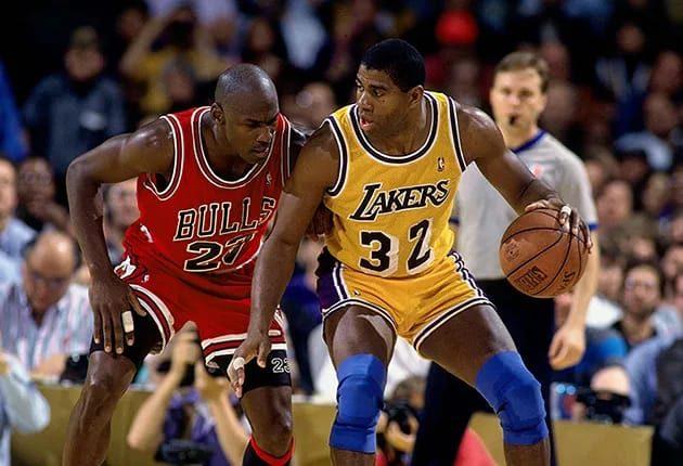Magic Johnson opina: 'Um é melhor, o outro é maior' sobre LeBron e Jordan