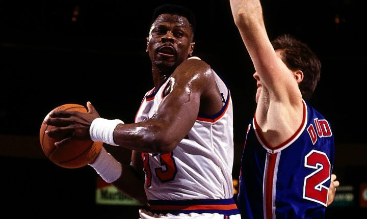Ídolo do New York Knicks, Patrick Ewing está internado com a COVID-19