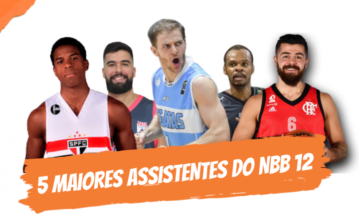 Top 5 – Maiores assistentes do NBB 12