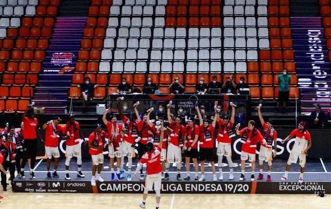 Baskonia é campeão da Liga ACB