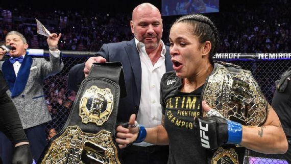 Amanda Nunes é a maior e melhor lutadora de todos os tempos!