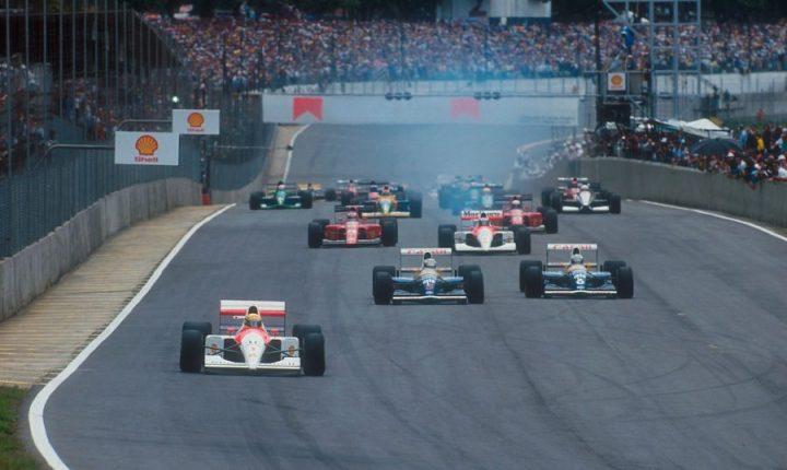A primeira vitória de Ayrton Senna no GP Brasil de Fórmula 1