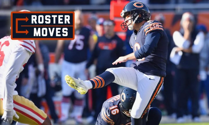 Cairo Santos retorna a NFL como kicker do Chicago Bears