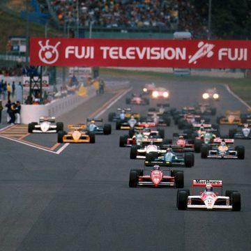 No GP do Japão de 1988, Ayrton Senna se sagrou campeão pela McLaren