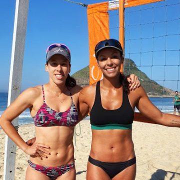 Taiana e Paula Pequeno estreiam no Vôlei de Praia