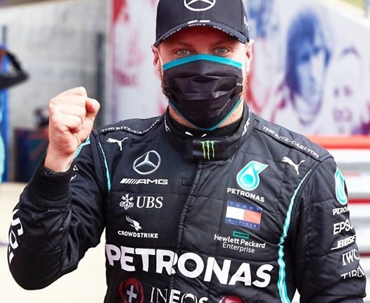 Bottas supera Hamilton e consegue a pole no GP dos 70 anos da Fórmula 1