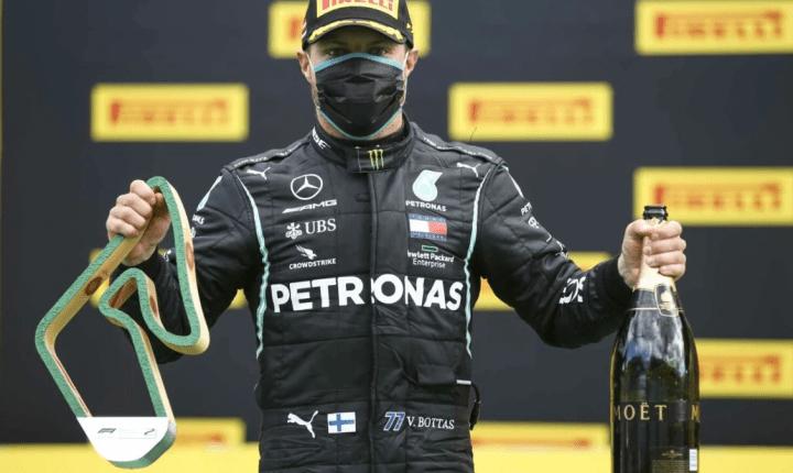 Bottas renova com a Mercedes para 2021