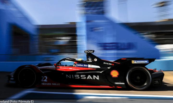 Fórmula E: Oliver Rowland vence pela primeira vez