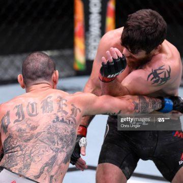 Pichel bate Miller em luta equilibrada no UFC 252