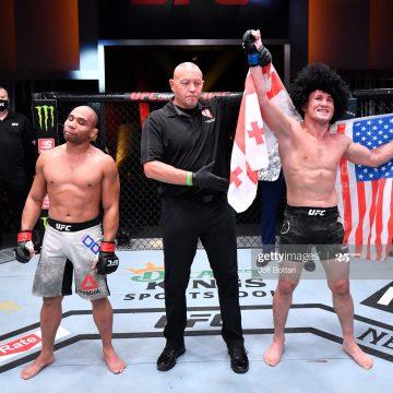 Dvalishvilivence Dodson no UFC 252 por pontos