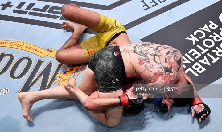 Pineda massacra Burns e nocauteia no UFC 252
