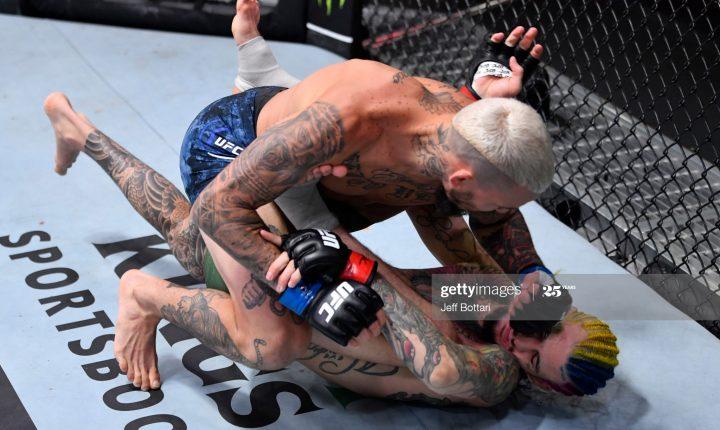 Marlon Vera vence O'Malley no 1º round no UFC 252, em Las Vegas