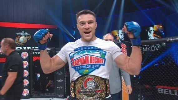 O mundo do MMA é cada vez mais russo: Vadim Nemkov que o diga