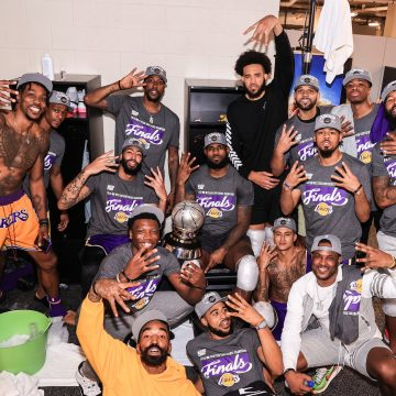 LeBron James brilha, Lakers vence a Conferência Oeste e está na final da NBA